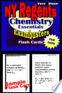 NY Regents Chemistry Test Prep Review  Exambusters Flashcards