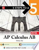 5 Steps to a 5  AP Calculus AB 2018