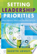 Setting Leadership Priorities