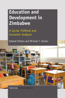 Education and Development in Zimbabwe Design In An Increasingly Knowledge Economy In