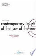 Contemporary Issues of the Law of the Sea