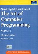 Art of Computer Programming  Volume 3  2 e