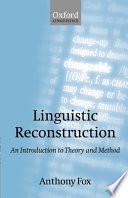 Linguistic Reconstruction