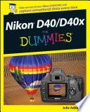 Nikon D40 D40x For Dummies