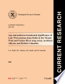 Geological Survey of Canada  Current Research  Online  no  2007 B4