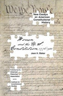 Women and the U.S. Constitution, 1776-1920