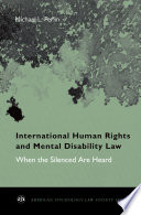 International Human Rights and Mental Disability Law