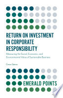 Return on Investment in Corporate Responsibility