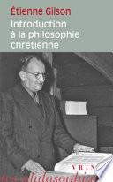 illustration du livre Introduction à la philosophie chrétienne