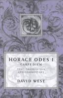 Horace Odes I