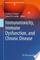 Immunotoxicity  Immune Dysfunction  and Chronic Disease