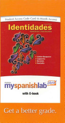 Identidades Myspanishlab With Pearson Ebook Student Access Code