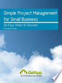 Simple Project Management For Small Business : encountered problems in your business that...