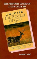 The Pursuit of God Study Guide