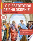 La dissertation de philosophie   M  thodes et ressources