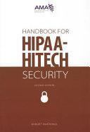 Handbook for HIPAA HITECH Security