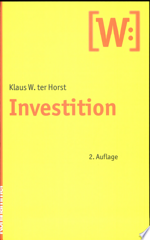 Investition - ISBN:9783170207561
