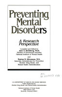 Preventing mental disorders