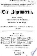"""""""Die"""" Zigeunerin"""