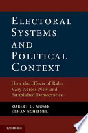 Electoral Systems and Political Context