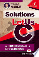 Let Us C Solutions 16th Edition