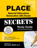 Place Special Education Generalist  20  Exam Secrets Study Guide