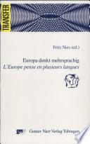 Europa denkt mehrsprachig