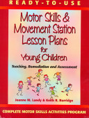 Ready to use Motor Skills   Movement Station Lesson Plans for Young Children