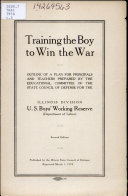 Training the Boy to Win the War Book PDF