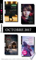 9 romans Black Rose no447 à 449-octobre 2017
