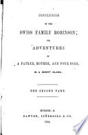 Conclusion of the Swiss Family Robinson