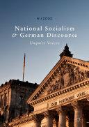 download ebook national socialism and german discourse pdf epub