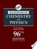 CRC Handbook of Chemistry and Physics  96th Edition