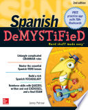 Spanish DeMYSTiFieD  Second Edition