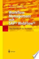 Workflow Management mit SAP   WebFlow