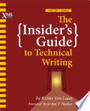 The Insider S Guide To Technical Writing