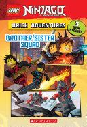 Brother/Sister Squad (LEGO Ninjago: Brick Adventures) Book