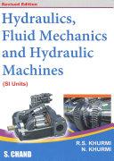 Textbook of Hydraulics  Fluid Mechanics and Hydraulic Machines