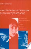 Von der Sprache der Musik zur Musik der Sprache