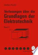 Vorlesungen   ber die Grundlagen der Elektrotechnik