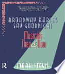 Broadway Babies Say Goodnight