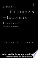 Jinnah  Pakistan and Islamic Identity