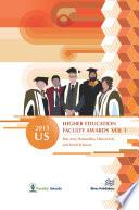 2015 U.S. Higher Education Faculty Awards, Vol. 1