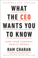 cover img of What the CEO Wants You to Know