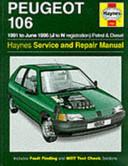 Peugeot 106  Petrol and Diesel  Service and Repair Manual