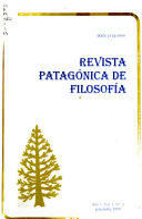 Revista Patag Nica De Filosof A