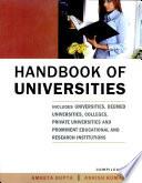 Handbook Of Universities book