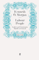 Labour People Book I Examine About Thirty Key Personalities In