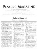 The Players Magazine