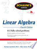 Schaum s Outline of Linear Algebra Fourth Edition